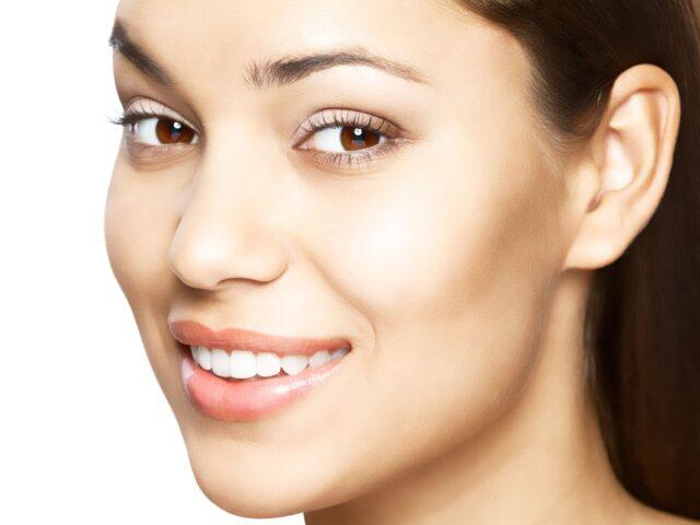 smiling after dental treatment